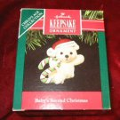 1991 Hallmark Keepsake Ornament Baby's Second Christmas QX4897
