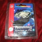 Flashing Philadelphia Eagles Pendant Pin Phillies NFL