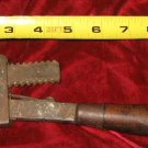 Vintage Stillson Walworth #10 Pipe Wrench Wood Handle