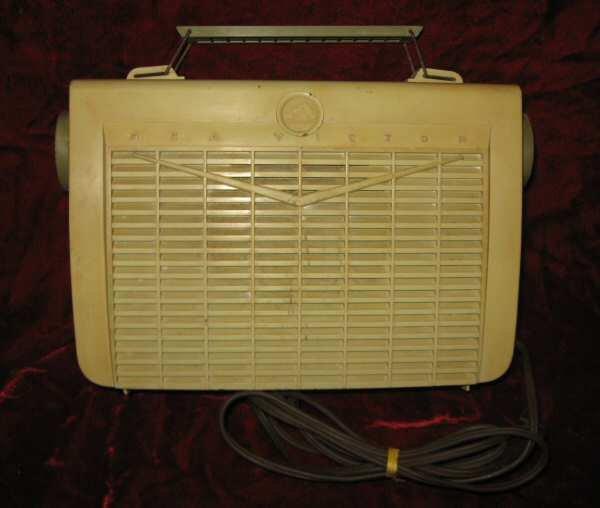 Vintage RCA Victor Portable Tube Radio 7-BX-5HH