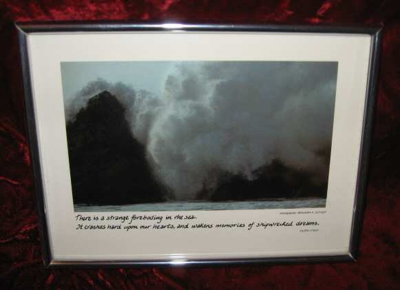 Vintage Framed Photo Benjamin A. Guyger Eileen Lynch Breakers