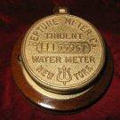 Vintage Neptune Meter Trident New York Water Meter Plaque