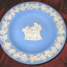 Wedgewood Blue Jasper Ware Decorate Plate England