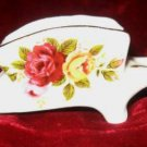 Finsbury Fine Bone China Floral Wheelbarrow England
