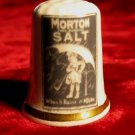 Finsbury Morton Salt Porcelain Bone China Thimble England