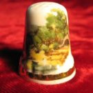 Finsbury Forest Porcelain Bone China Thimble England