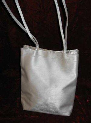 Grayish Silver Purse Handbag Evening Shoulder Bag