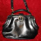 Vintage Black Purse Handbag Evening Shoulder Bag