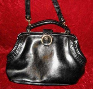 Vintage Black Purse Handbag Evening Shoulder Bag