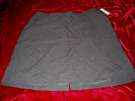 NEW NY&Cmpany City Stretch Gray Mini Skirt Sz12 Business Sexy HOT
