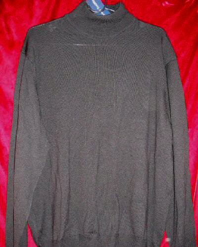 NWT Grant Thomas Italian Merino Wool Crew Sweater L Made in Italy