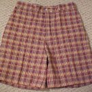 New Austin Reed Men&#39;s Plaid Shorts Waist Size 34 Mens Clothing 410291