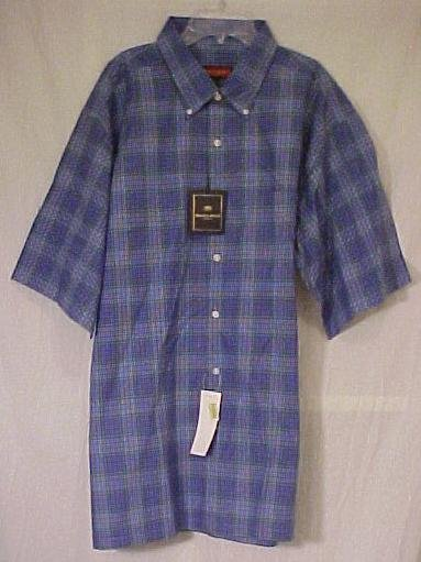 New Austin Reed Man's Button Down Shirt 2xlt Big & Tall Men's Clothing  410151