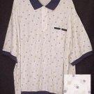 New Pull Over Collar Polo Golf Waistband Shirt 3X 3XL Big Tall Mens Clothing  410131-2