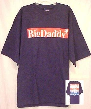 New Big Daddy Navy Survival T-shirt 3x 3xl Big Tall Mens Clothing 410361-5