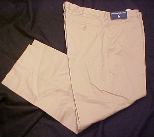 New Polo Ralph Lauren Tan Pant Pants 40 X 32 Big Tall Mens Clothing 410671