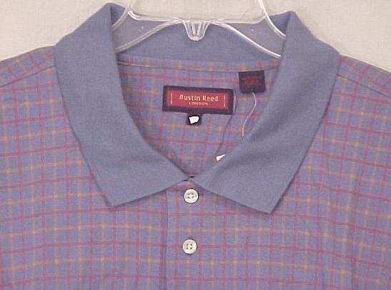 NEW Austin Reed Polo Golf Shirt Collar Short Sleeve 3XT 3XLT Big & Tall Men's Clothing 600461-2