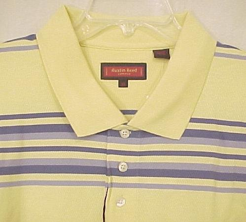 NEW Austin Reed Polo Golf Shirt Collar Short Sleeve 4X 4XL Big & Tall Men's Clothing 600511