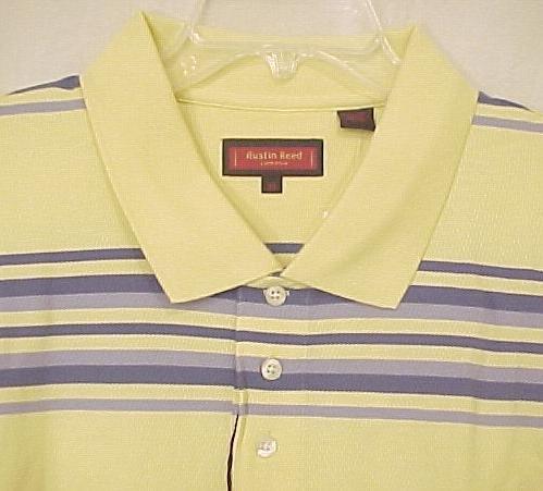 NEW Austin Reed Polo Golf Shirt Collar Short Sleeve 4X 4XL Big & Tall Men's Clothing 600511