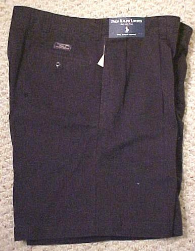 New Ralph Lauren Polo Tyler Golf Shorts Navy Blue Chino Size 50 Big & Tall Mens Clothing 600631