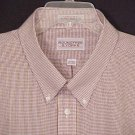 Roundtree & Yorke Button Down Short Sleeve Collar Dress Shirt 19 Big & Tall Mens Clothing 600941-5
