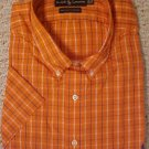 Ralph Lauren Button Down Shirt Short Sleeve Size 2X 2XL Big Tall Men's Clothing 601321