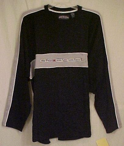 Big Daddy Long Sleeve Black Pull Over Jersey T-Shirt 2X 2XL Big Tall Men's Clothing 601741