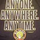 New Big Daddy Anyone Anywhere Anytime T-Shirt Long Sleeve 2X 2XL Big Tall Mens Clothing  701941-2