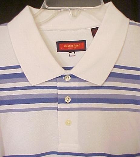 New HALF OFF Austin Reed Polo Golf Shirt Short Sleeve 3XT 3XLT Big & Tall Men's Clothing 702211