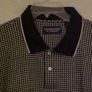 New Pull Over Collar Long Sleeve Polo Golf Shirt 3XL 3X Big Tall Mens Clothing 702431