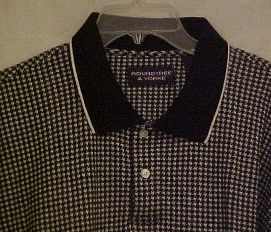 New Pull Over Collar Long Sleeve Polo Golf Shirt 2XLT 2XT Big Tall Mens Clothing 702441