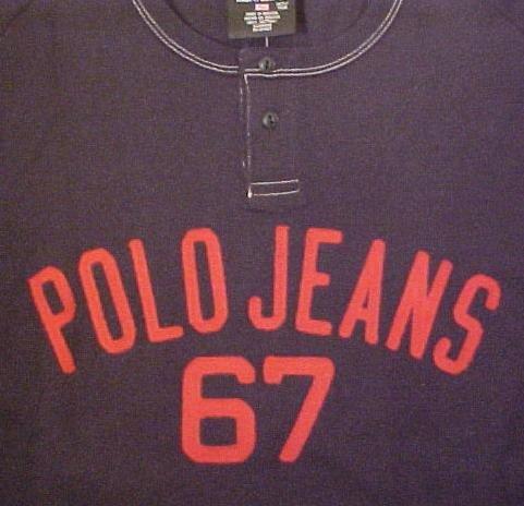 New Ralph Lauren Polo Jeans Navy T-shirt 1XT 1X Tall Big Tall Mens Clothing 702551