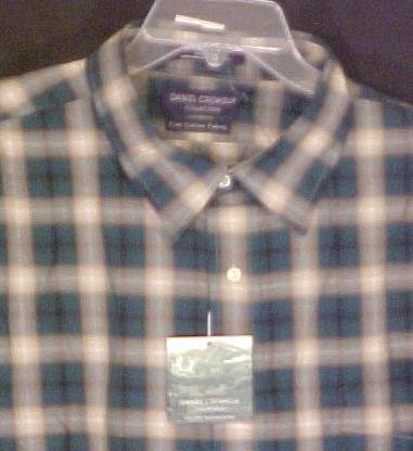 New Daniel Cremieux Long Sleeve  Button Down shirt 2XL 2X Big Tall Mens Clothing 702571