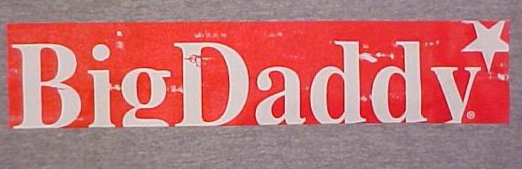 New Big Daddy Gray Survival Short Sleeve T-shirt 2X 2XL Big Tall Mens Clothing 702671