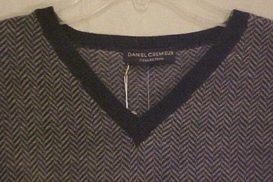 New $145 Daniel Cremieux Long Sleeve V Neck Sweater 2XLT 2XT Big Tall Mens Clothing 702861