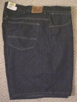 Ralph Lauren Polo Jeans Company Langley Denim Shorts 46 Big Tall Mens Clothing 702891