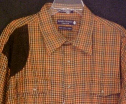 Daniel Cremieux Long Sleeve Button Down Shirt 3X 3XL Retail $78 Big Tall Men's Clothing 803161
