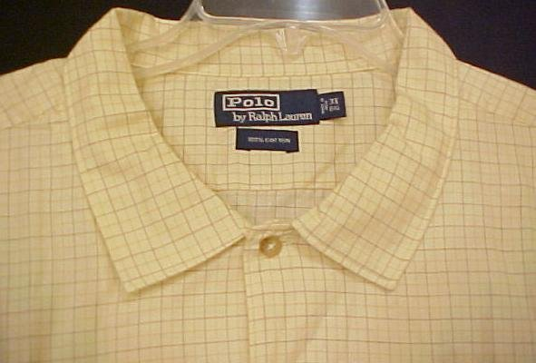 Polo by Ralph Lauren Button Casual Dress Shirt 3X Big Tall Mens Clothing 803431