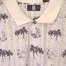 Polo Shirt Pull Over Golf Collar Waistband 3X 3XL Big Tall Men's Clothing 803501