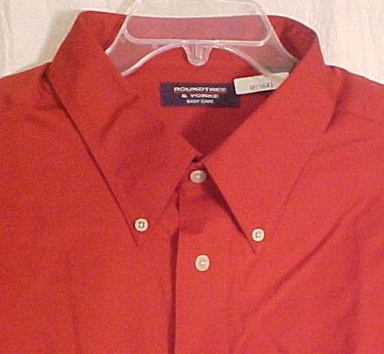 NEW Button Down Peached Twill Shirt Long Sleeve 4X 4XL Big N Tall Mens Clothing 903651