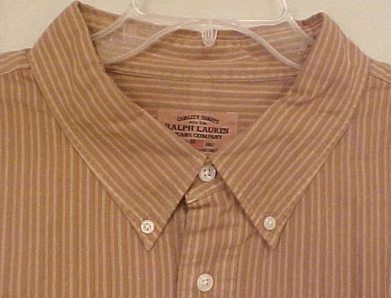 NEW Ralph Lauren Polo Jeans Button Down Shirt 4XL 4X Big Tall Mens Clothing 107082