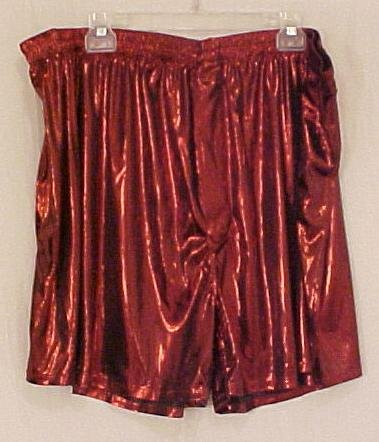 New Murano Shiny Red Boxers Size 3X 3XL Big Tall Mens Clothing 107571