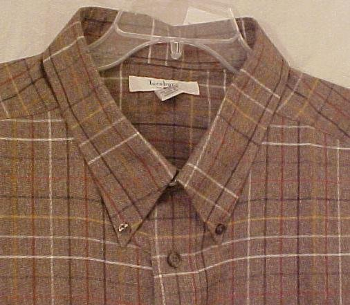 New Turnbury Long Sleeve Button Front Shirt 4X 4XL Big Tall Mens Clothing 904881