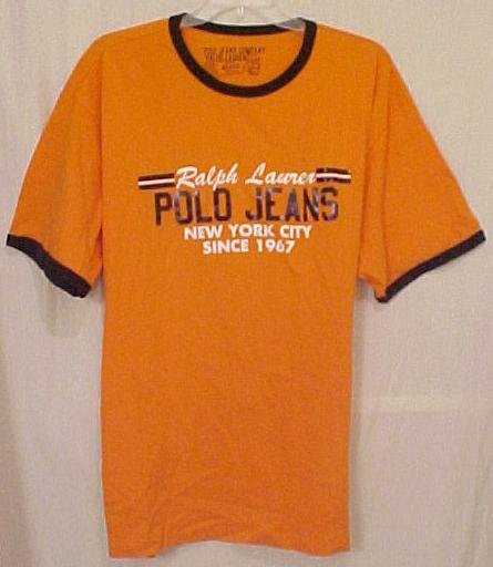 NEW Ralph Lauren POLO JEANS T-Shirt Size 4XLT 4XT Big Tall Mens Clothing 21721