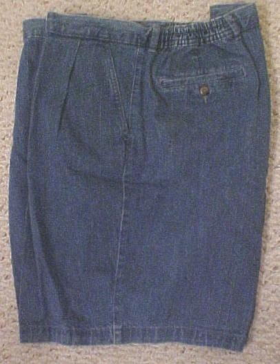 NEW Denim Walking Golf Shorts Size 50 Big Tall Mens Clothing 43401
