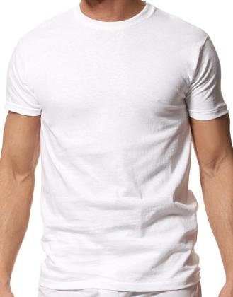 NEW Crew Neck T-shirt Undershirt 2 pack Size 6X Big Tall Mens Clothing 33101