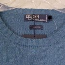 NEW Polo by Ralph Lauren Long Sleeve Blue Sweater Size 2XT 2XLT Big Tall Mens Clothing 906681
