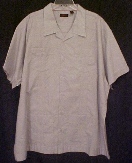 Cuban Guayabera Mexican Wedding Shirt Size 3XLT 3XT Big Tall Men's Clothing 63041-2