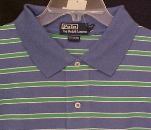 New Ralph Lauren Polo Golf Shirt Short Sleeve Size 4X 4XL Big Tall Mens Clothing 811541