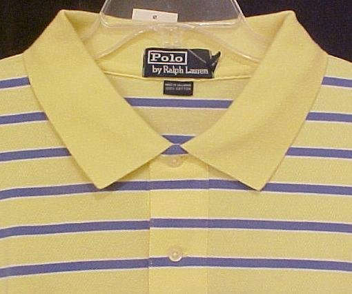 New Ralph Lauren Polo Golf Shirt S/S Size 3XL 3X Big Tall Mens Clothing 811601-2